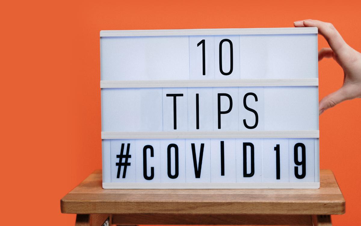 10 tips para protegerte del coronavirus todos los días