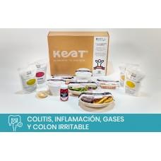 Protocolo: Colitis, inflamación, gases y colon irritable