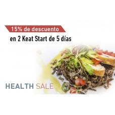En la compra de 2 Keat Start - 15% de descuento