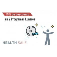 En la compra de 2 programas lunares -15% de descuento